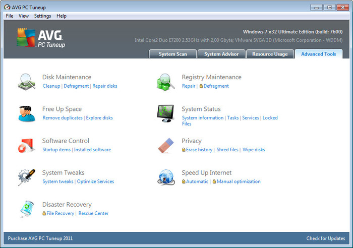 avg pc tuneup review